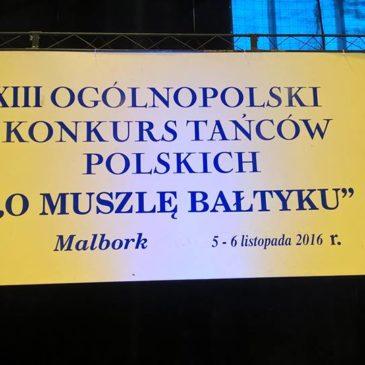 """XIII Ogólnopolski Konkurs Tańców Polskich """"O Muszlę Bałtyku"""""""