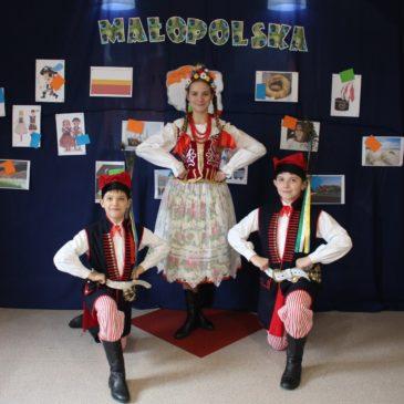 Lekcja regionalna w Przedszkolu Mała Akademia z Liszek