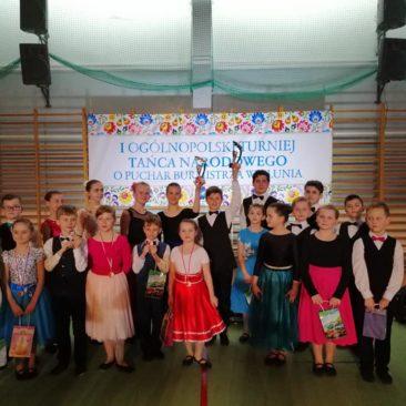 I Ogólnopolski Turniej Tańca Narodowego o Puchar Burmistrza Wielunia